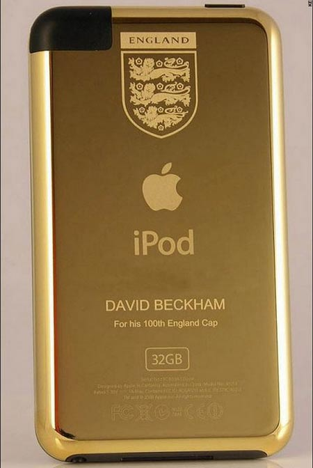 $1200 iPod Touch To Honor Beckham