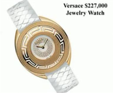 Baselworld 2008: Versace $227,000 Jewelry Watch