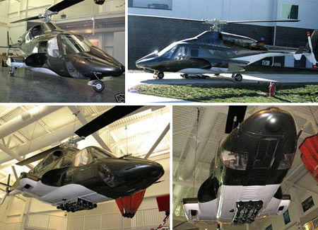 Airwolf Helicopter Replica Reaches eBay
