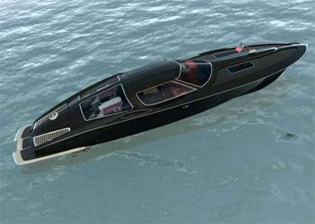 Watercraft Dons Auto Appeal, Concept Courtesy Swedish designer