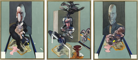 Francis Bacon 1976 triptych Sells for $86.3 million, Breaks NYC Auction Record