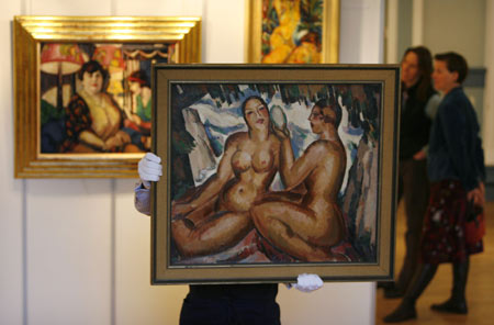 'Bathers with Mirror' May Fetch £200,000