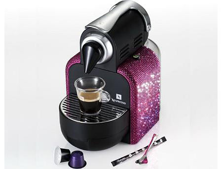 Bejeweled Nespresso to Commemorate Convivio 2008