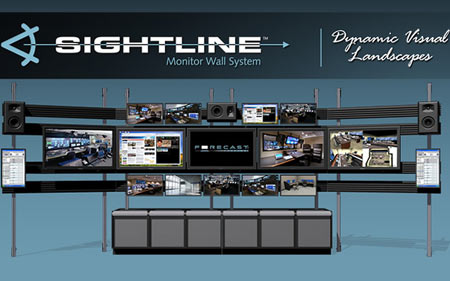 Sightline Monitor Wall System Offers An Ubiquitous Feel!