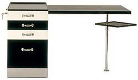 Marcel Breuer Designs Writing Desk For MonoChrome Lovers