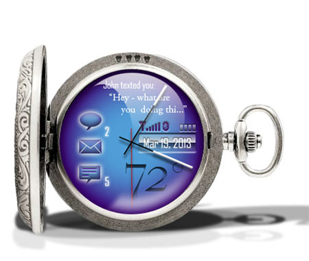 Cobalt Pocketwatch