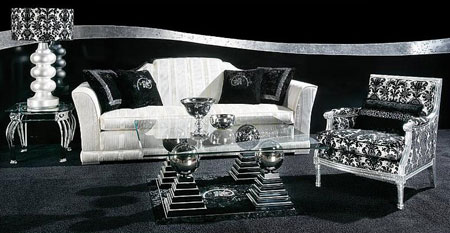 Crystal-Encrusted Furnishings