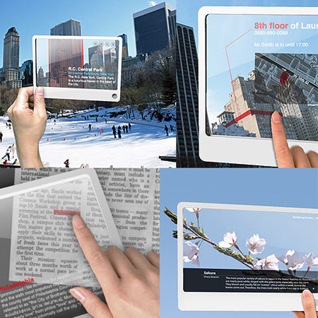 Concept Mobile Touchscreen Tablet Defines Future of Internet Search