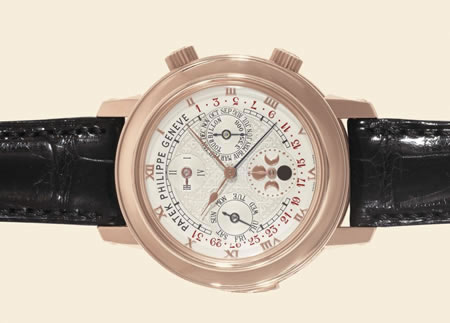 Patek Philippe Wristwatch Is World's Most Expensive For  £1.1million