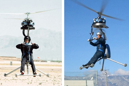 GEN H-4: World's Smallest One-Man Helicopter Costs $58,250