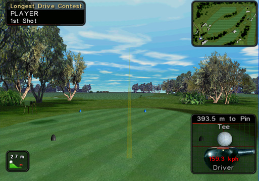 Eball In-House Golf Simulator Offers Virtual Fun