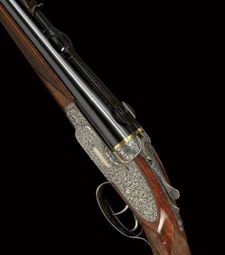 Last-Ever Shotguns Developed by Asprey Sells For $100,000 Plus