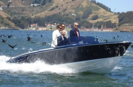 Frauscher Hybrid Power Boat