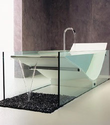 $34,000  Le Cob Glass Bath