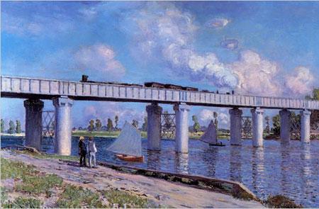 Le Pont du Cheminde Fer Argenteuil