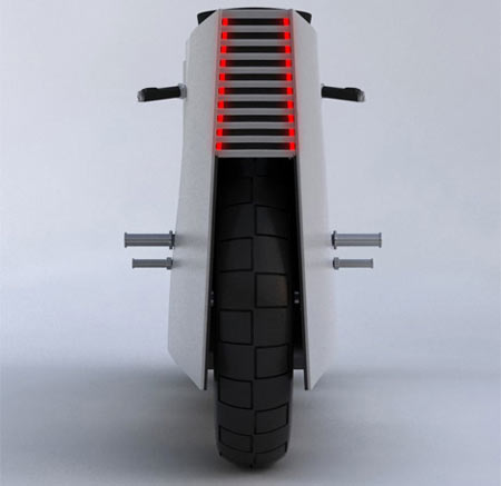 Nucleus Motorcycle Concept Is Wild