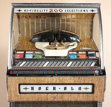 Retro Style 1957 Rock-Ola Jukebox