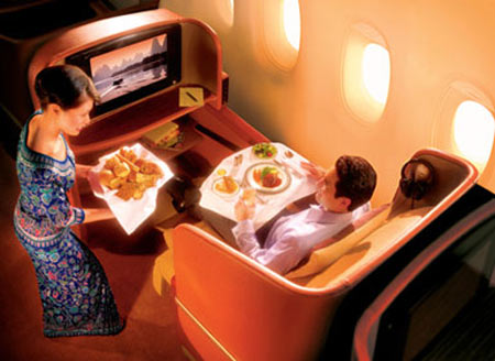 Singapore Airlines Honored Via iPod Docks and LCDs