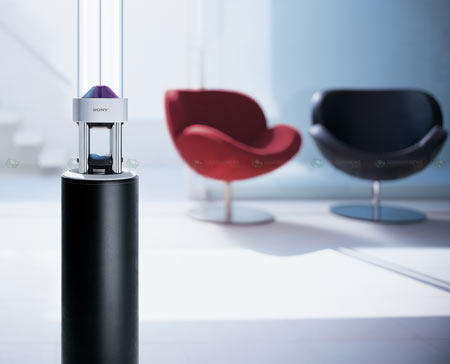 Sony Sountina glass speaker