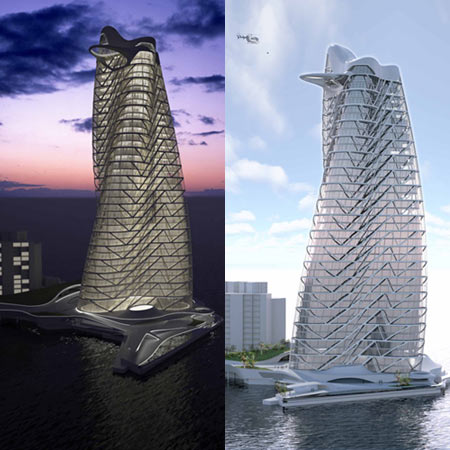 strata luxury tower Asymptote To Erect Strata Luxury Tower in Dubai by 2011