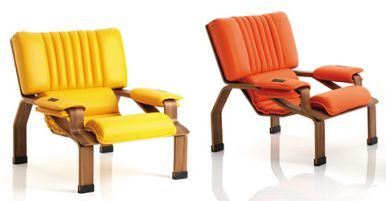 Joe Colombo 1960s Superleggera Armchair