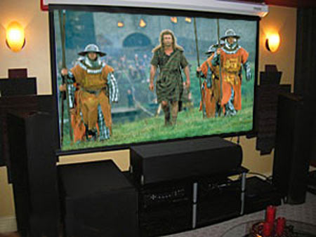 DIYer $50,000 Home Theater Invites Audiophile