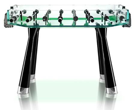 Teckell Crystal Foosball Table