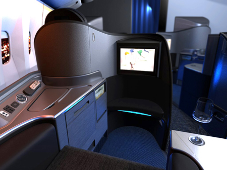Luxury Has A New Address Via United Airlines First Class Suite