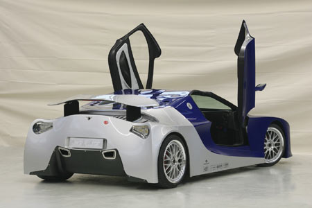 weberfaster car The 900 HP Weber Faster One Supercar Honored as Worlds Fastest Car
