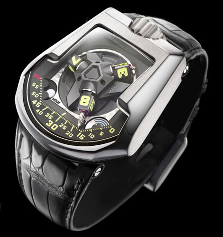 103.08 TiAlN By Urwerk Is The World's Hardest Watch