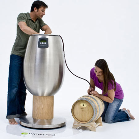 WinePod: Now Try Winemaking at Home