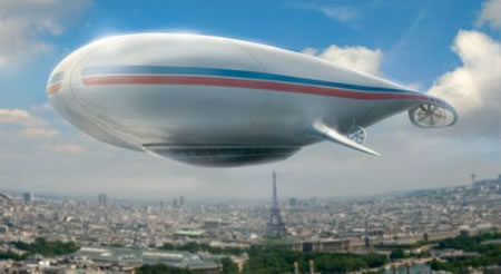 World's First Luxury Airship: The Manned Cloud