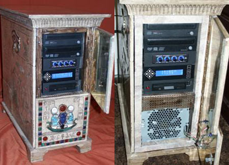 King Tut Inspired PC Casemod Breeds Egyptpunk!