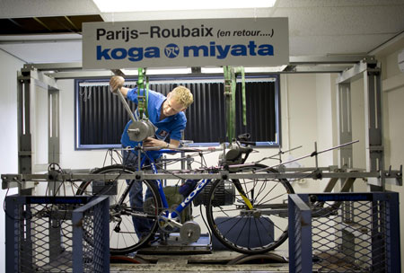 Beijing Ride: Koga Miyata's $1 million Racing Bike