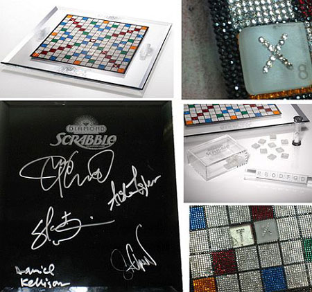 Swarovski Slapped Scrabble Marks 60th Anniversary