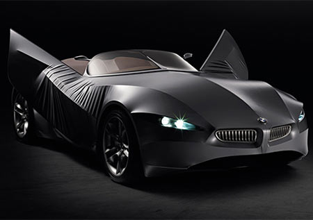 GINA Light Visionary Model: Shape-Changing Concept Coupe by BMW