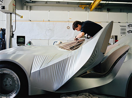 bmw-gina GINA Light Visionary Model: Shape-Changing Concept Coupe by BMW