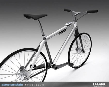 Futuristic Cannondale Urban Bikes May Get iPod Dock Upgrade