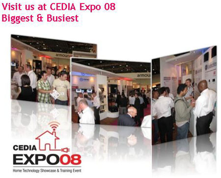 First Day at CEDIA Expo'08 Unveils Revolutionary Offerings
