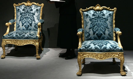 Thomas Chippendale's Furniture Up For Auction