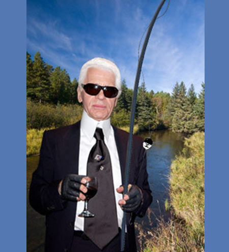 Elite Find of the Day: Karl Lagerfeld's Chanel $20,000 Fly-Fishing Rod