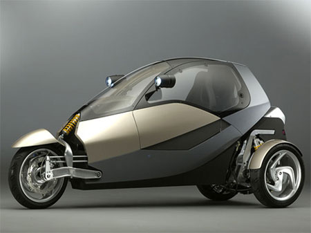 CLEVER: 3 Wheeled Compact Low Emission Vehicle Concept