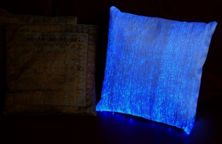 High Tech Cushions Breeds Illumination!
