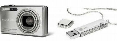 Elite Find of the Day: Dalumi Oozes Tech Via Diamond Camera, USB Drive
