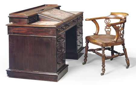 Charles Dickens' 'Great Expectations' Desk Fetches $850K