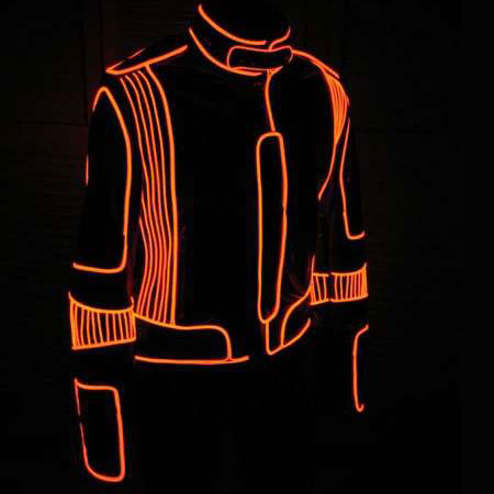 Designing Electroluminescent Clothing Is In!