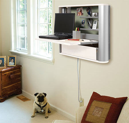 eNook Pro: A Wall Mounted Workstation for Flat Screen Monitors