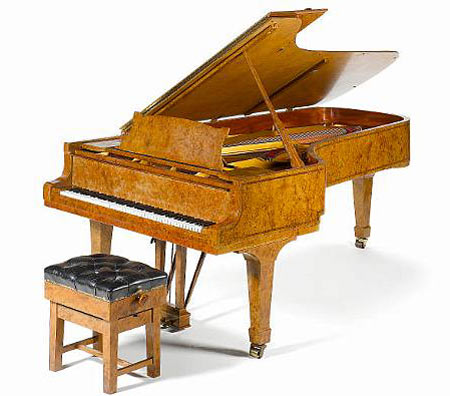 Elite Find of the Day: Bonhams to Auction Elton John Piano