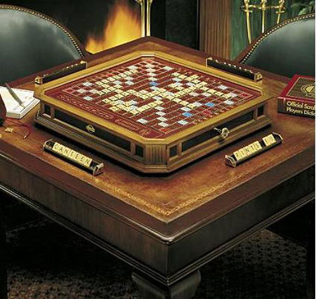 Gold Scrabble