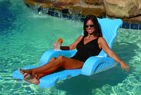 Unsinkable Pool Lounge Chair